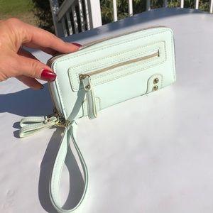 Light Mint green wallet